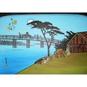 Moonlight, Nagakubo,after Ando Hiroshige
