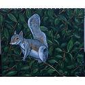 Grey Squirrel; Oils on canvas;20x 16 inches;€600.
