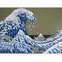 Wave after Katsushika Hokusai-